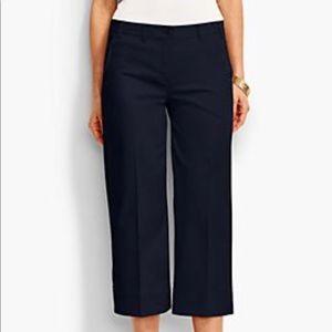 Talbots Navy Blue Deck Pants Size 4